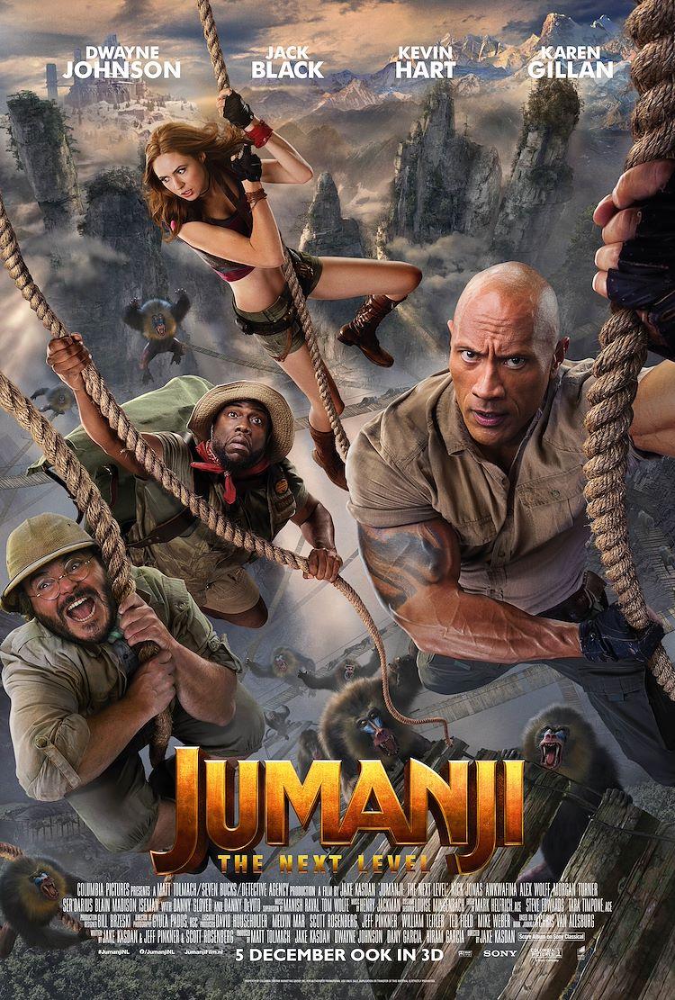 Jumanji: The Next Level 3D