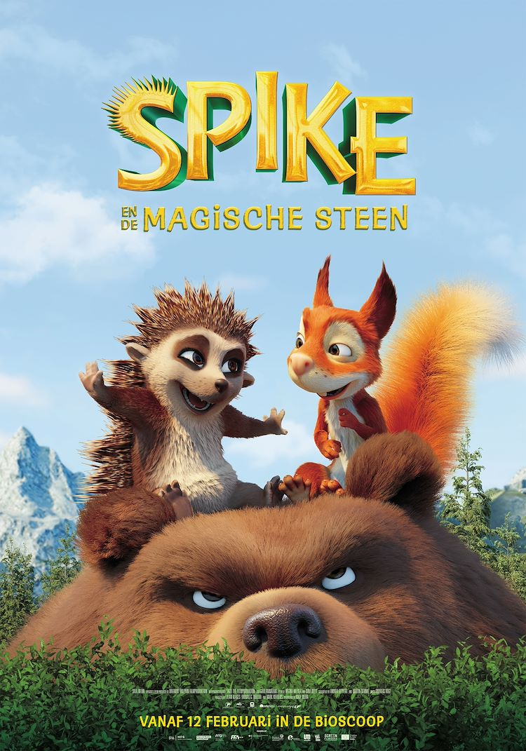 Spike en de Magische Steen
