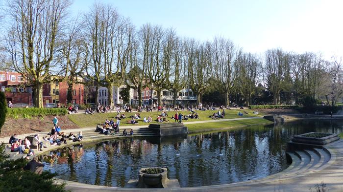 Cursuslocatie Groningen, Noorderplantsoen om de hoek