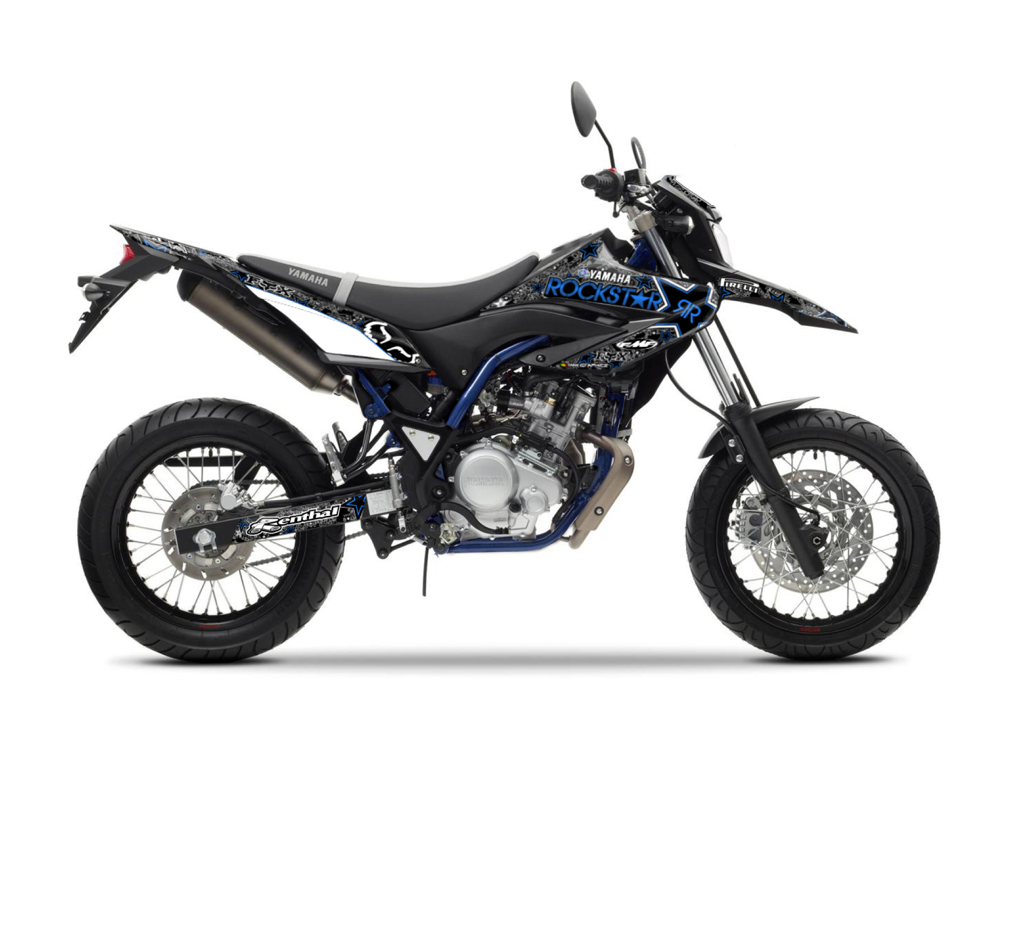 yamaha wr 125 r x rockstar fox graphics series tmx graphics. Black Bedroom Furniture Sets. Home Design Ideas