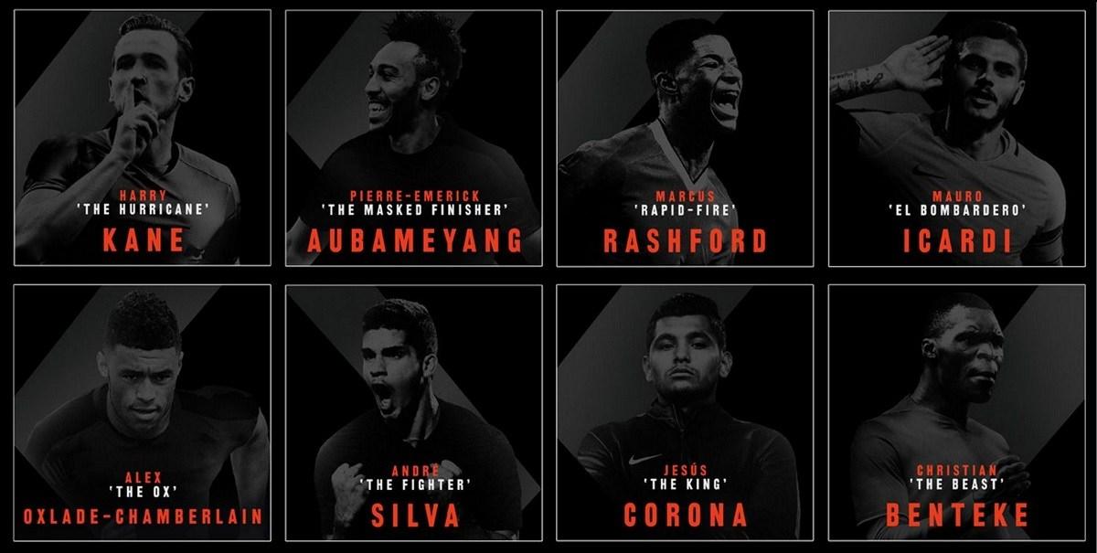 Nike Strike Nights soutěž - hráči