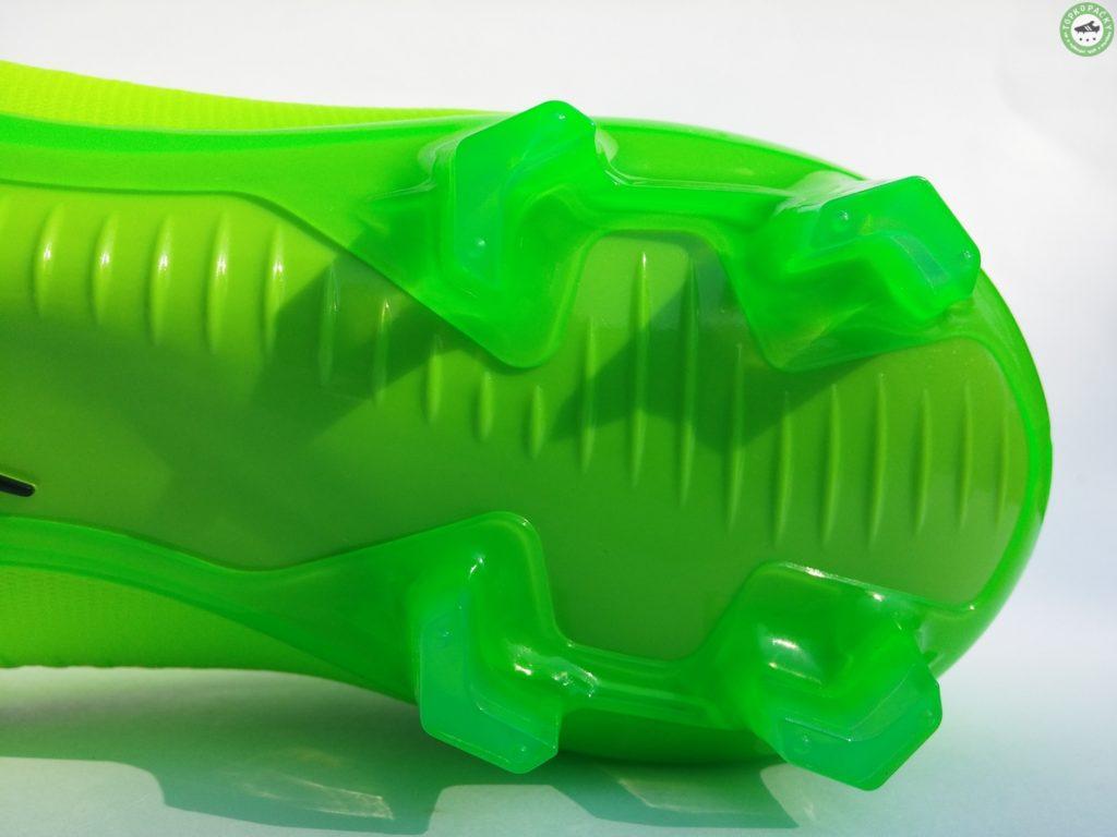 zadní část podrážky kopaček Nike Mercurial Veloce