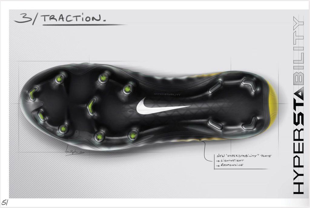Nike Tiempo Legend 7 skica podrážka