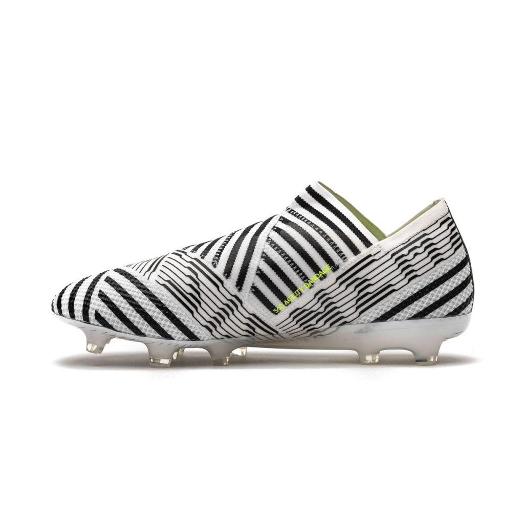 kopačky adidas nemeziz 17+ 360 agility FG z boku
