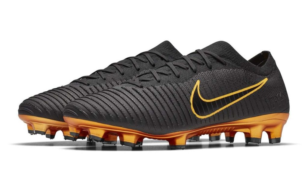 Nike Mercurial Vapor Flyknit Ultra gold black