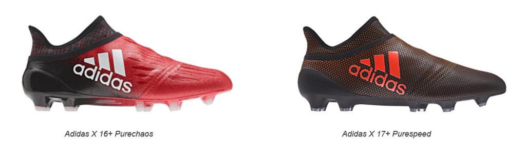 Kopačky Adidas X 17+ Purespeed vs Purechaos