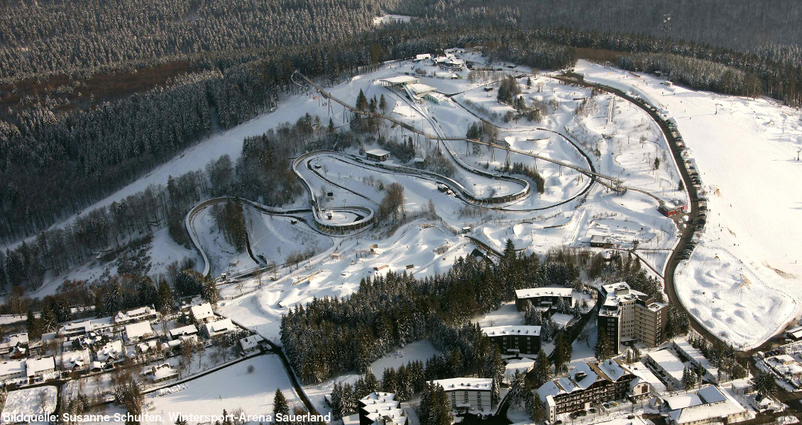 4 interessante Fakten zur Bobbahn in Winterberg