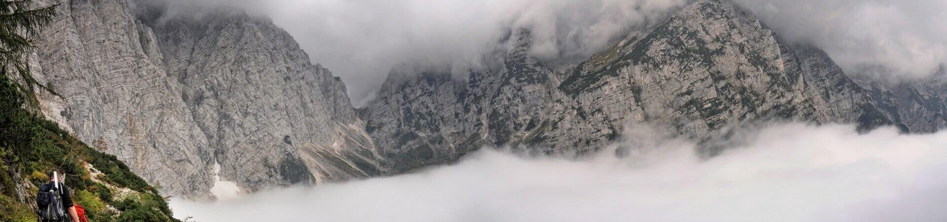 Triglav, jeden ze szczytów Apl Julijskich w Słowenii