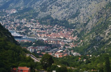 Widok na Kotor