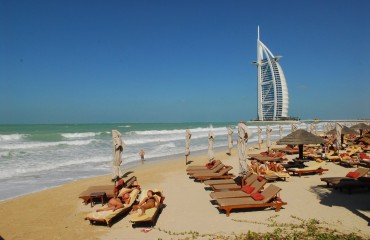 plaże w Dubaju