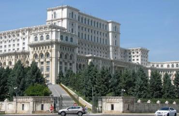 Parlament w Bukareszcie w Rumunii
