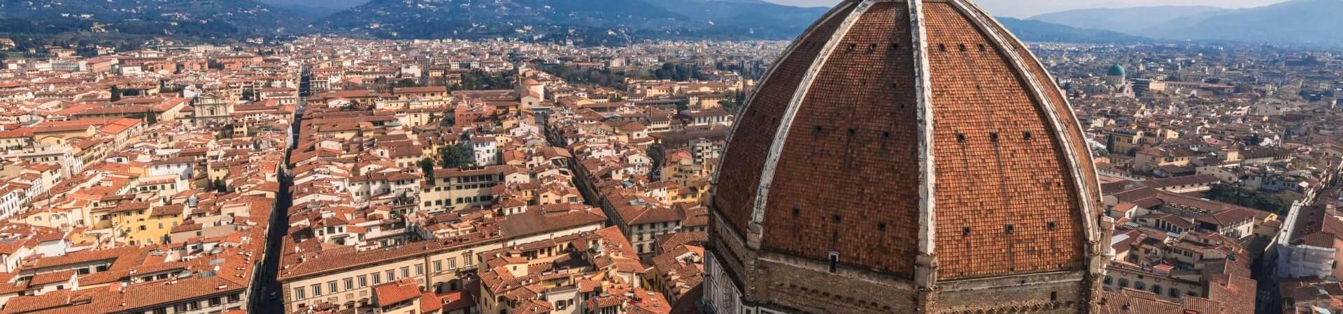 Panorama Florencji