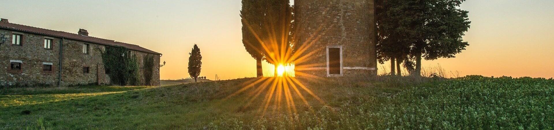 architektura Toskania