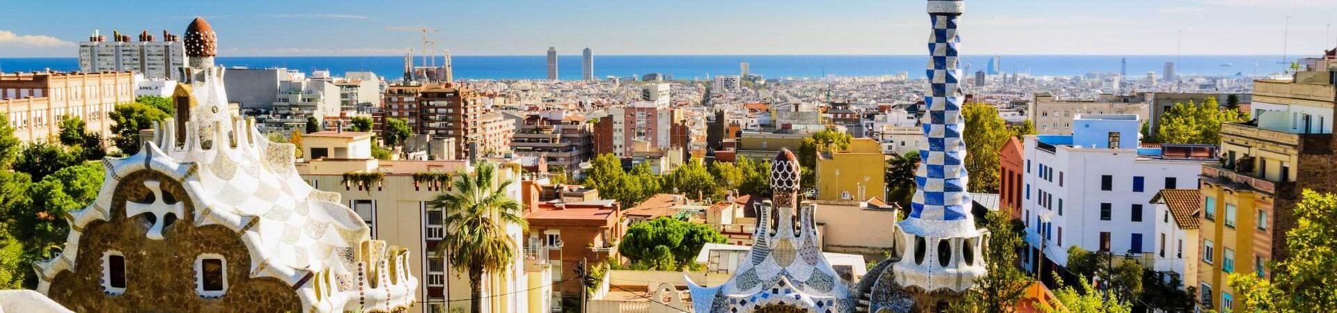 Ogrody Gaudiego w Barcelonie