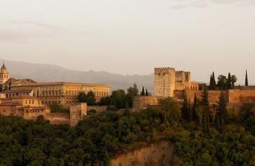 Zabytkowa Alhambra