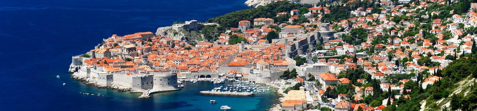 Plaża w Dubrovniku