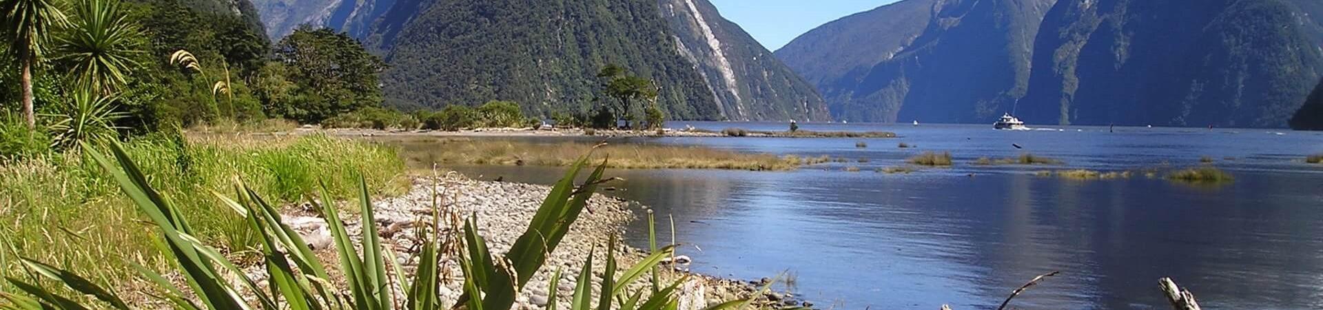 Fiordland w Nowej Zelandii