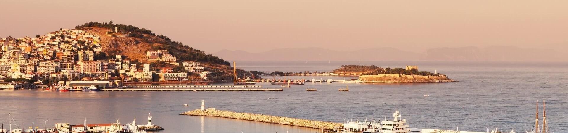 Wybrzeże Kusadasi w Turcji