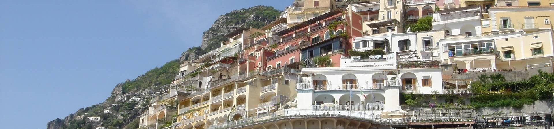 Positano na Wybrzeżu Amalfii we Wloszech