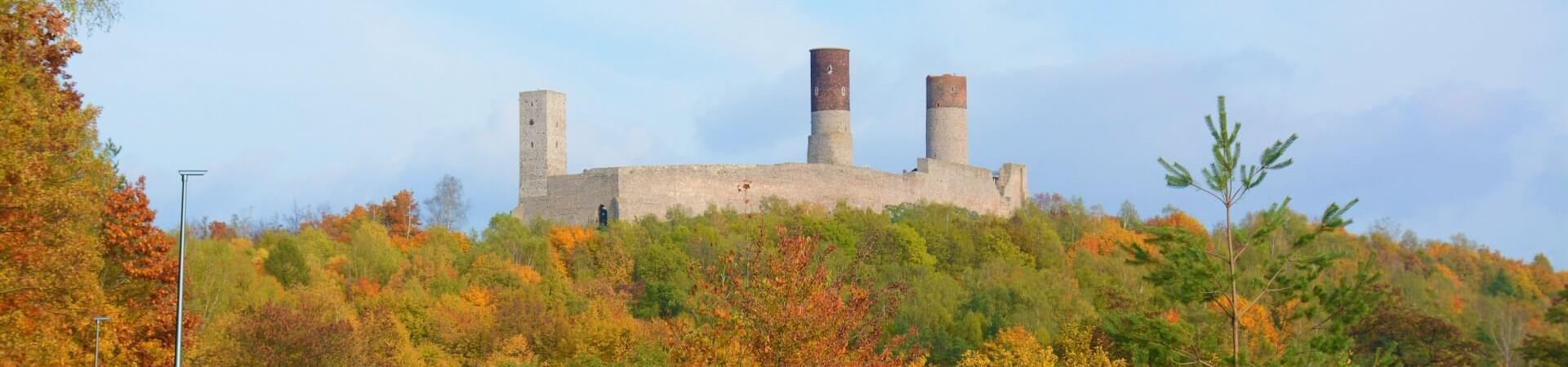 Imponujący zamek w Chęcinach