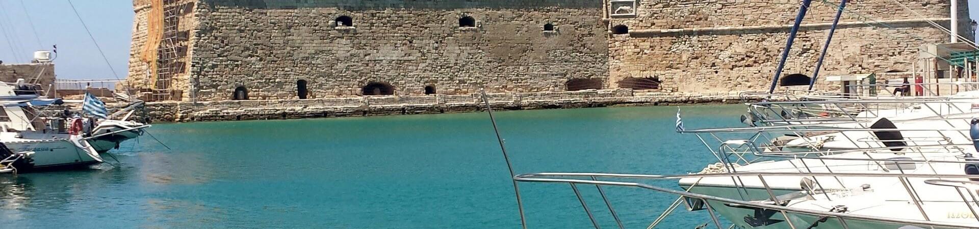 Heraklion w Grecji