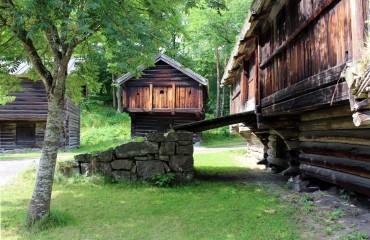 Domy wikingów w Oslo