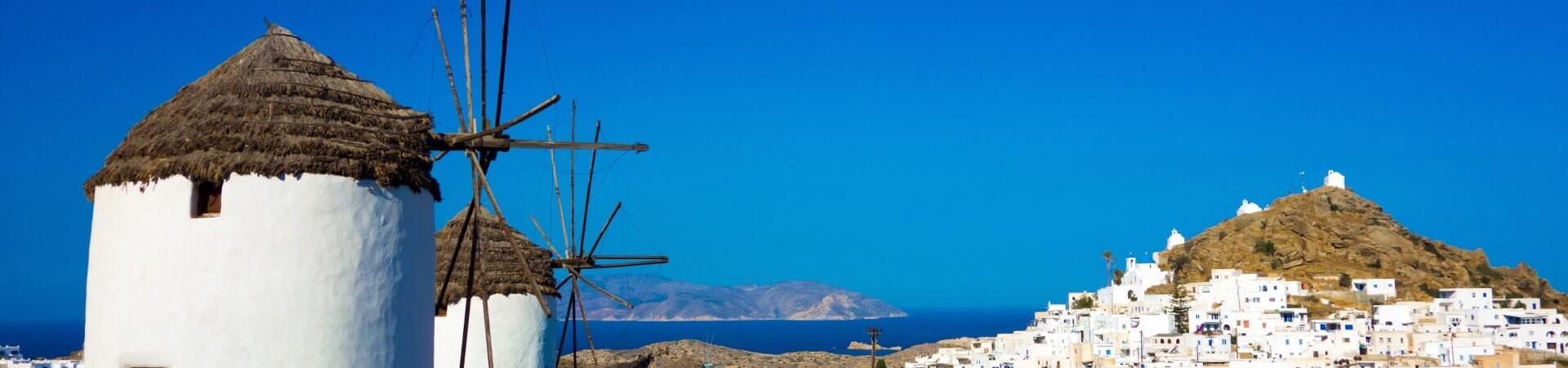 Greckie wiatraki