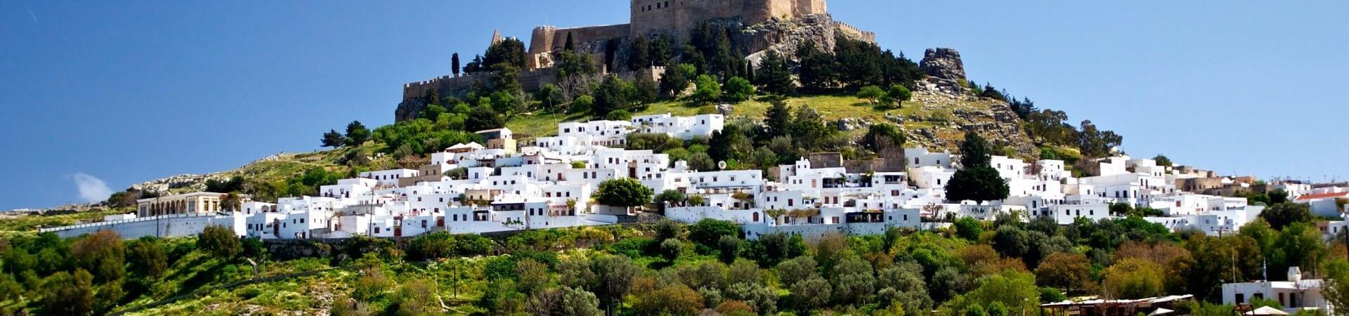 Lindos grecka wyspa