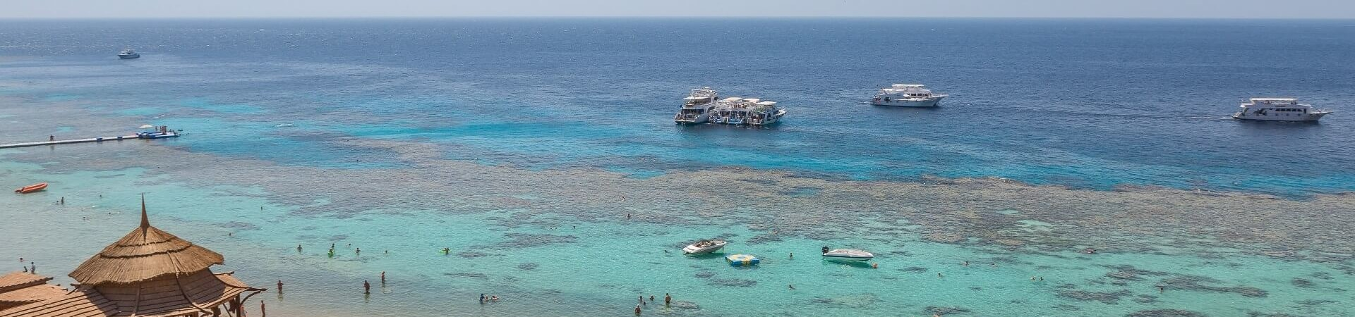 Piaszczysta plaża Egipt