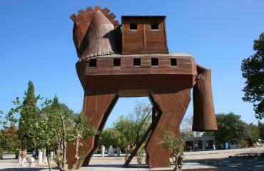 Koń Trojański w Troi