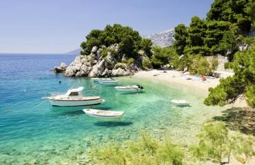 Piękna plaża w Chorwacji