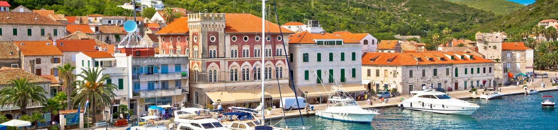 Chorwackie miasto Vis