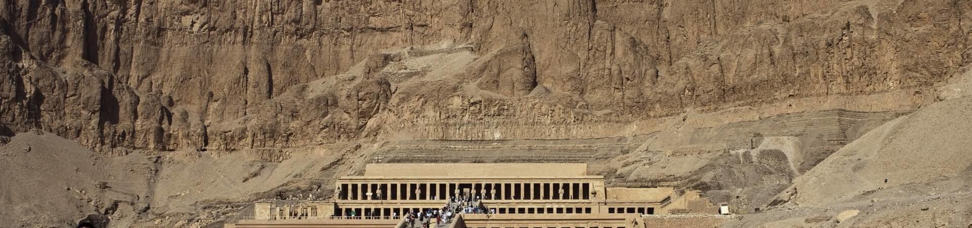 Egipt świątynia Hatszepsut