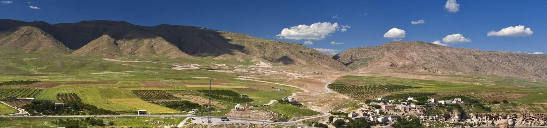 Hasankeyf w Turcji widok