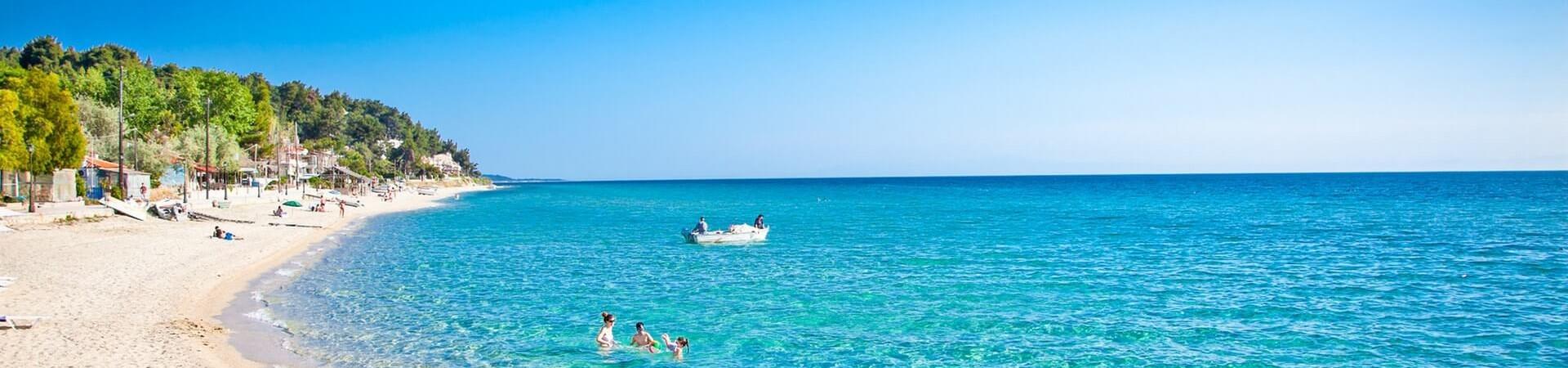 Kassandra plaża