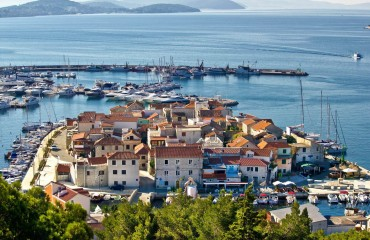 Chorwacja, widok na Vodice