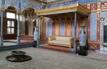 Wnętrza Pałacu Tokapi