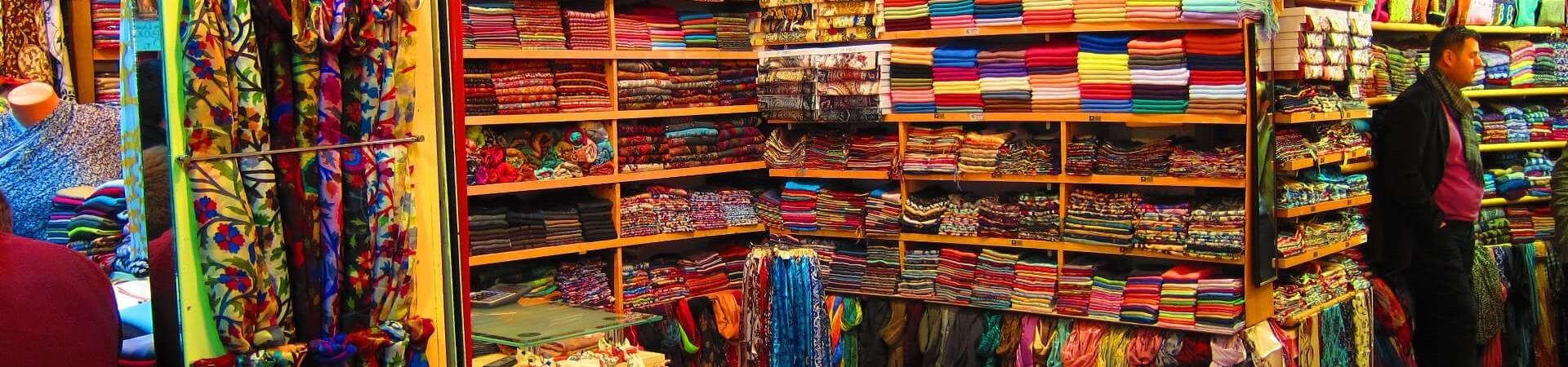 Bazar z ubraniami