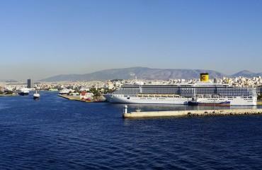 Port w Pireus