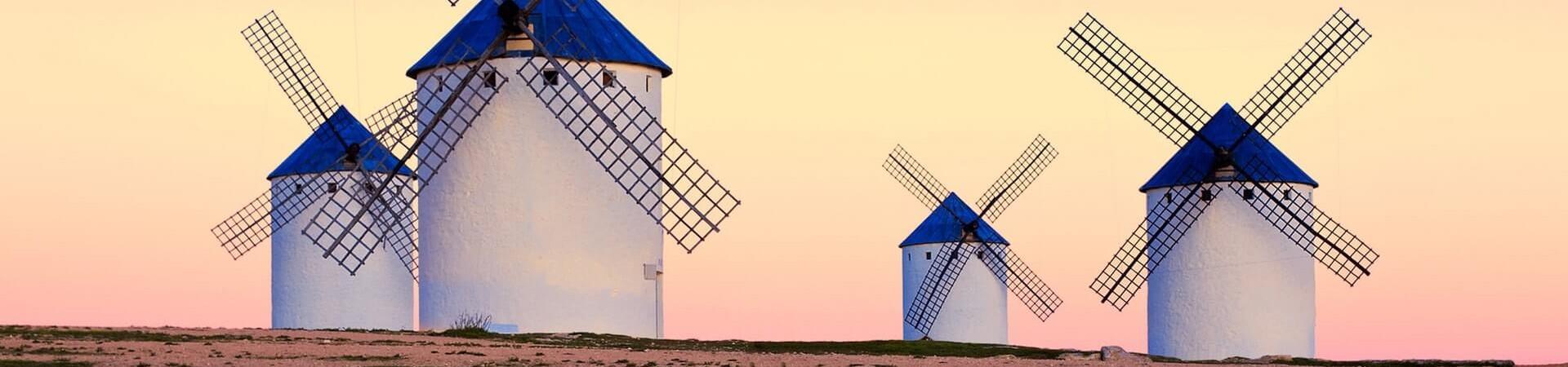 Hiszpańskie wiatraki