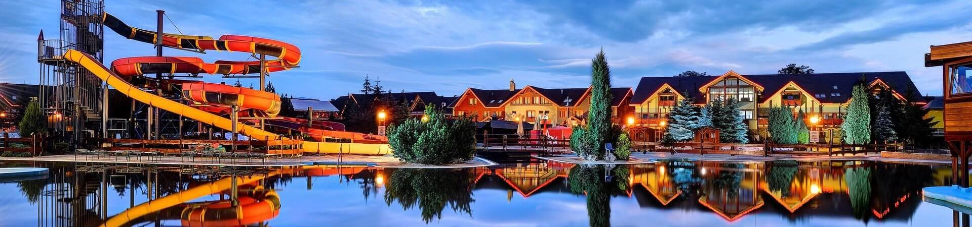 Aquapark Basenova Słowacja