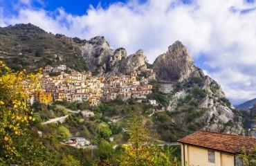 Włochy Castelmezzano