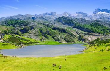 Asturia jezioro Ercina