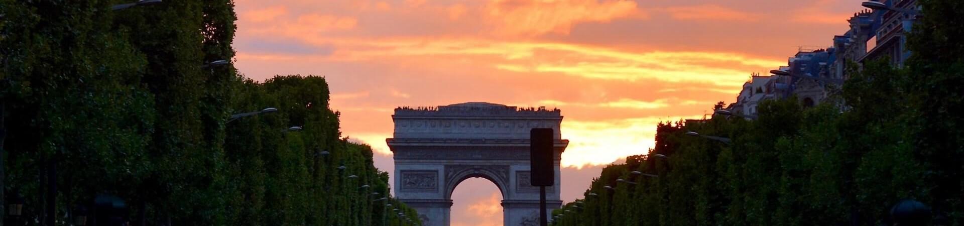 Champs Elysees Paryż