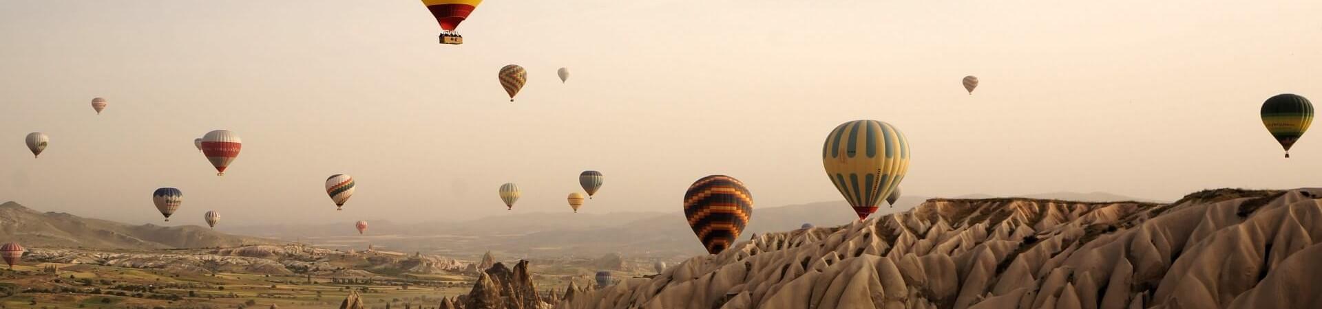 Kapadocja lot balonem
