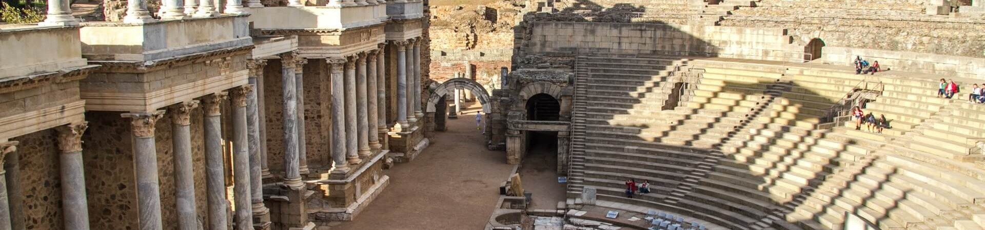 Merida teatr rzymski