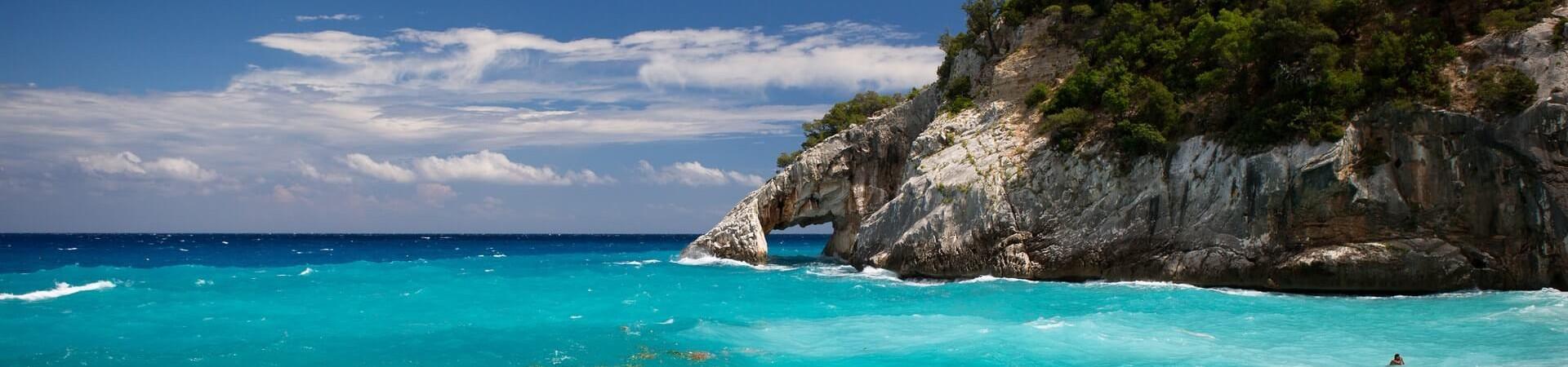 Plaża Sardynia Włochy