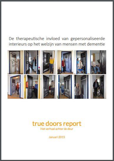 True Doors rapport - De therapeutische invloed van gepersonaliseerde interieurs op het welzijn van mensen met dementie
