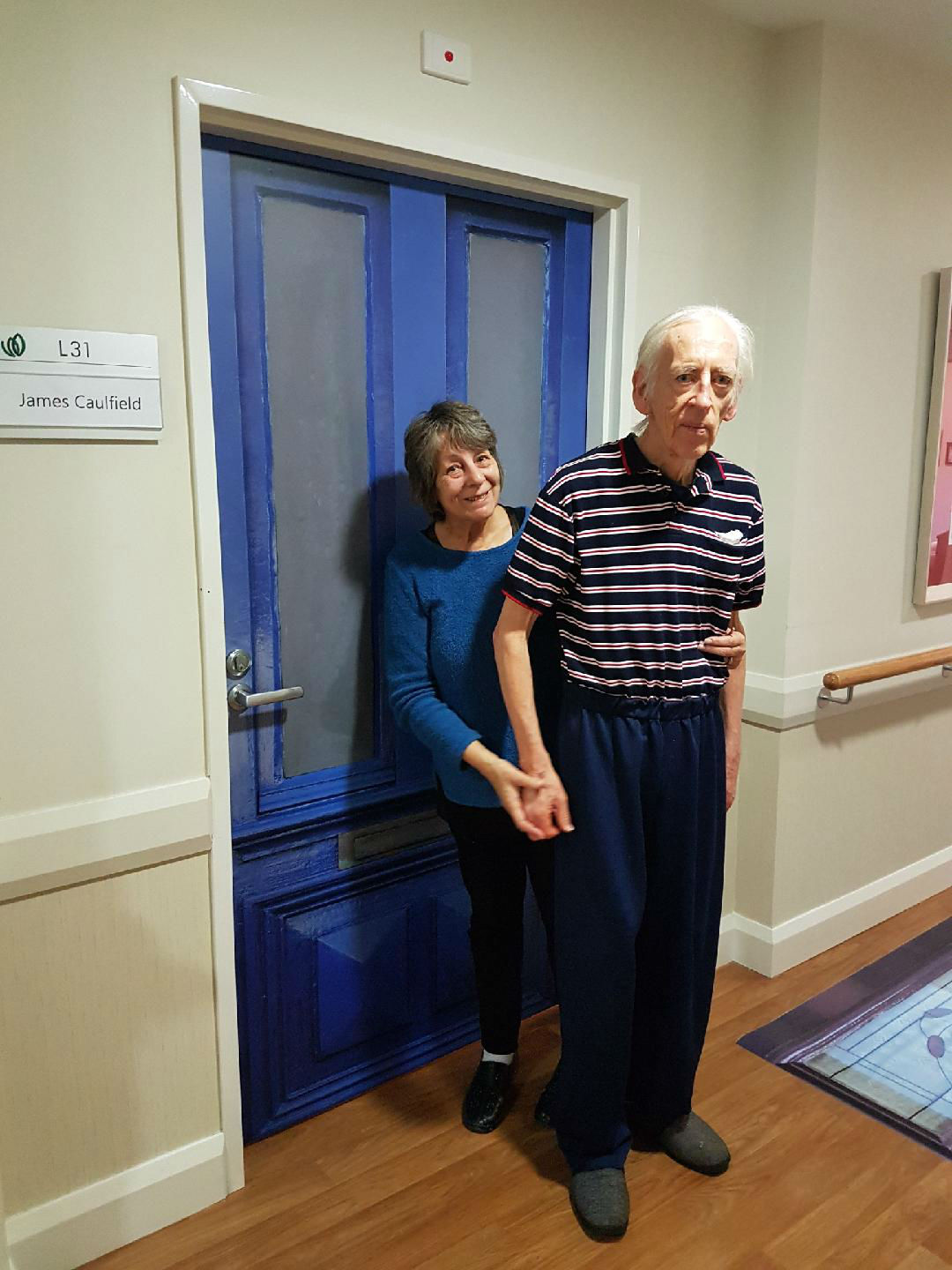 James - Having fun at TLC Aged Care The Heights in Donvale, Victoria, Australia