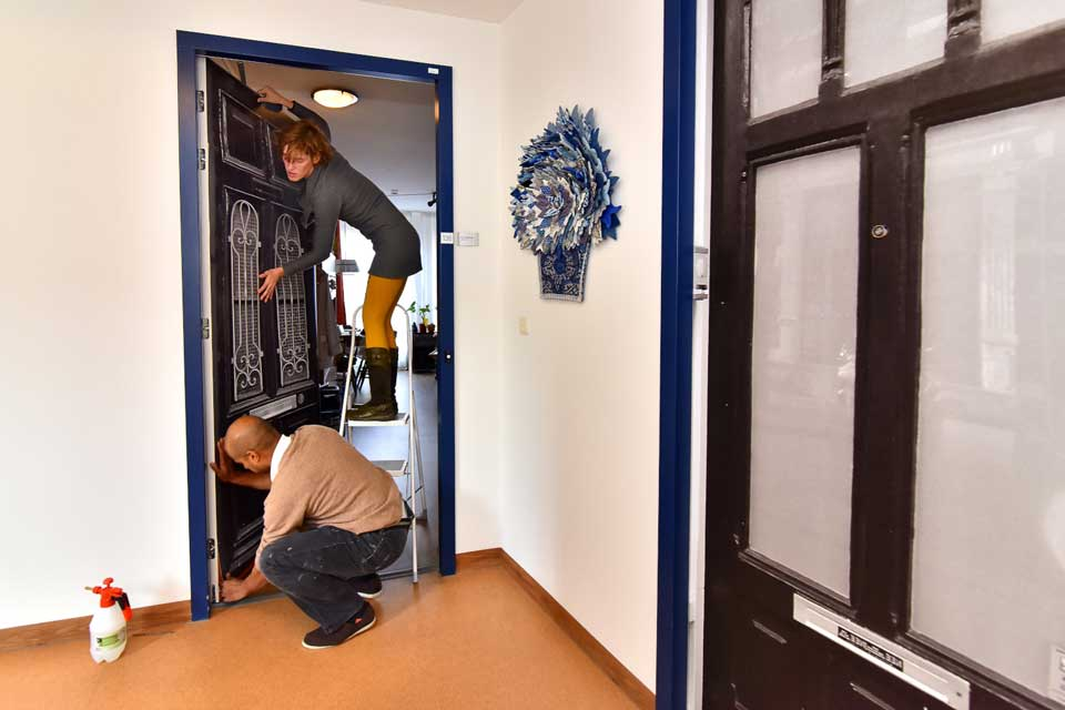 A True Doors transformation in Weidevogelhof Nursing Home